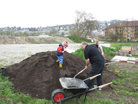 Neues Gartenjahr 2021: Saison-Start und Beete-Verteilung
